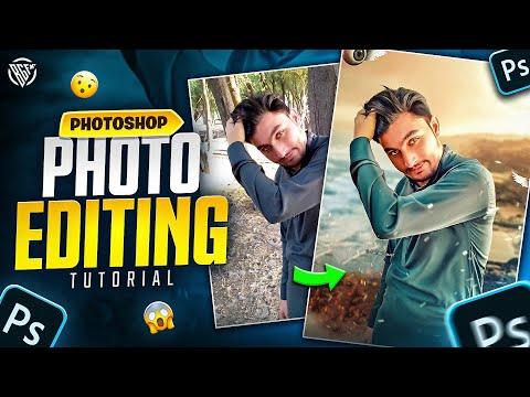 How To Edit Attitude Boy Photo Manipulation   Photoshop Tutorial   BOSS GFX thumbnail