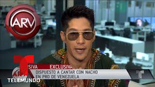 Chyno estará en el concierto Venezuela AID Live | Al Rojo Vivo | Telemundo