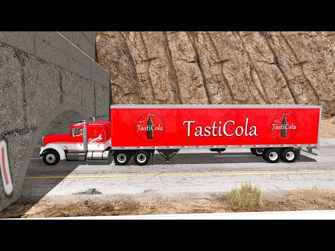 Tasti Cola Delivery Fails #10 - BeamNG DRIVE | SmashChan