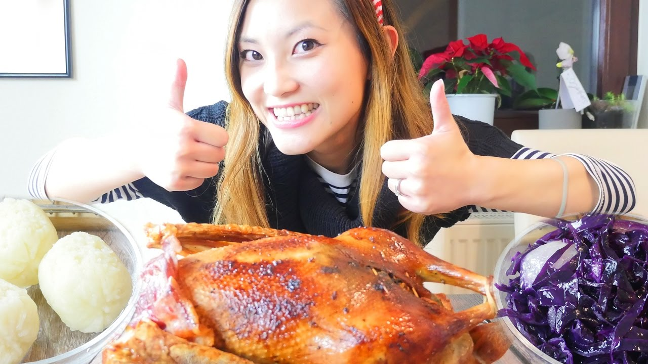 Traditional german christmas food roast goose red cabbage german traditional german christmas food roast goose red cabbage german recipe 17 youtube forumfinder Choice Image