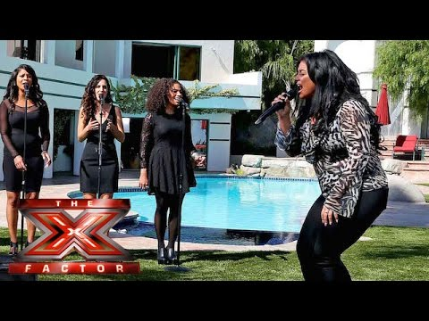 Lauren Murray fights for her place with Jess Glynne song    Judges Houses   The X Factor 2015