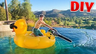 I Made a Jet-Ski In my pool ft. Faze Rug
