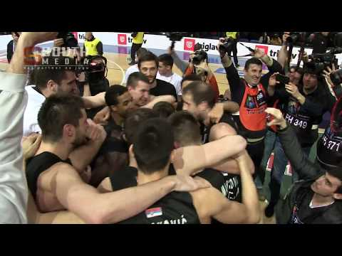 Partizan - Crvena Zvezda finale KRK 2018 Niš 18.2.2018.