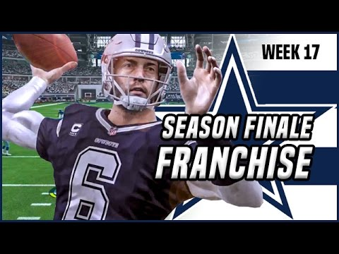 🔴 LIVE: TIME TO END THE SEASON! - Madden 17 Franchise Gameplay | Ep.12
