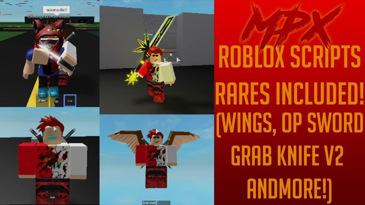 Roblox Grab Knife Lua Script Get 25 Robux Roblox Scripts Showcase Grab Knife V2 Sword And More Working Lua Scripts For Roblox Ft Veil Youtube