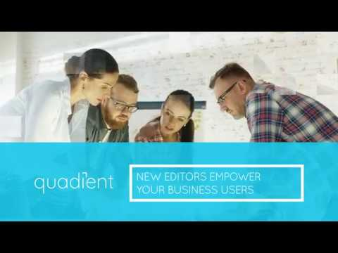 Inspire R12: New Editors Empower Business Users