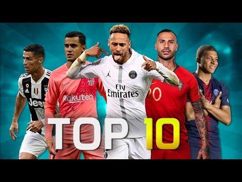 Top 10 Skillful Players in Football 2018 (HD) - Лучшие приколы. Самое прикольное смешное видео!