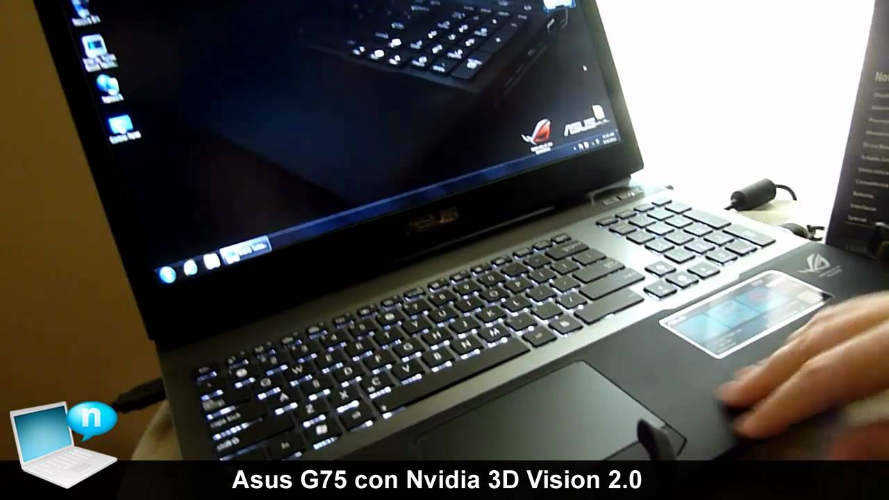 Asus G75VW Notebook Nvidia Display Windows Vista 64-BIT