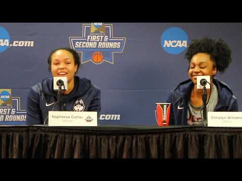 UConn Women's Basketball NCAA Tournament First Round Postgame