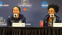UConn Women's Basketball NCAA Tournament First Round Postgame