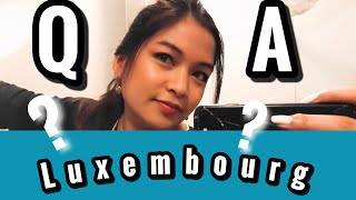 Luxembourg Q and A | TRAVEL EUROPE questions and answers| Alissa C