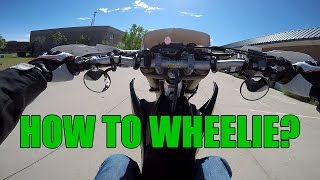 How to Start Learning Wheelies