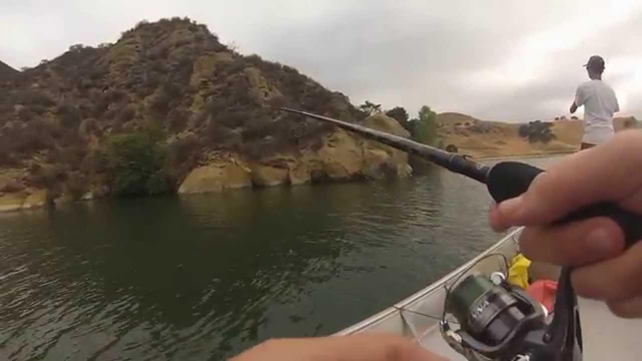 Striper fishing in lake del valle youtube for Lake del valle fishing report