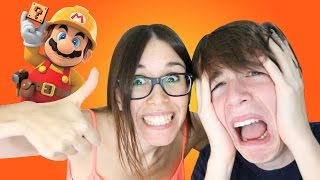 EL SUPER NIVEL DE MI HERMANA | Super Mario Maker