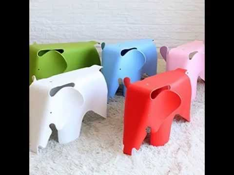FunHouse Eames Style Children's Elephant Chair