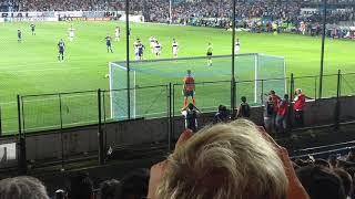 Racing Club vs Gimnasia (10/12/17), Gol de Lautaro Martinez