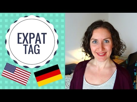 American in Germany ~ Expat Tag