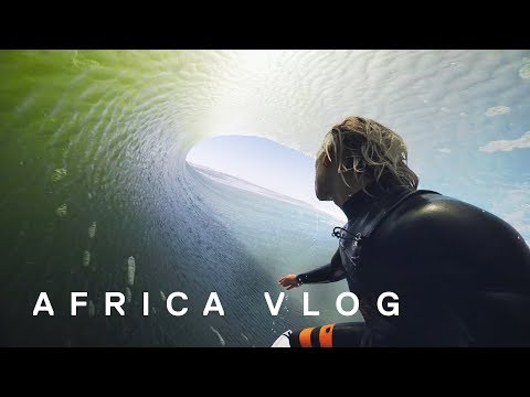 AFRICA Surf Trip |  Barrels with Koa Smith | Skeleton Bay