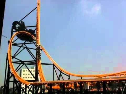 Trans Studio Bandung Roller Coaster Youtube