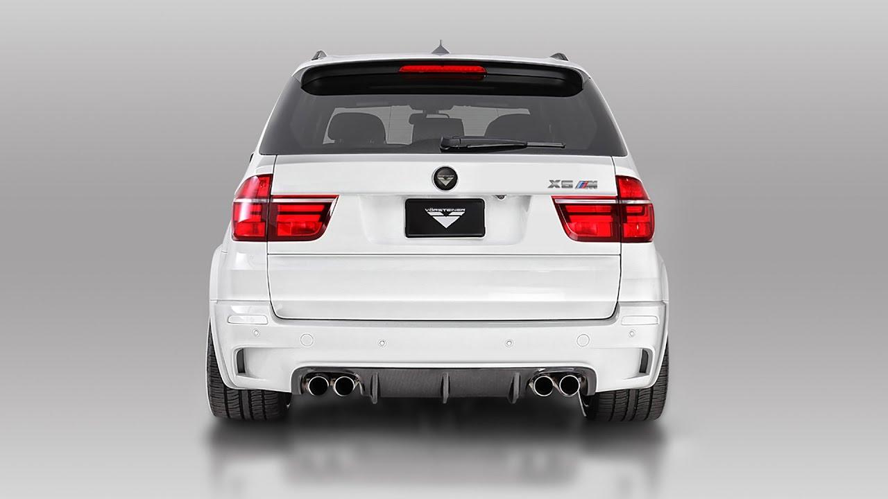 BMW X5 M and X6 M Sport Exhaust / Vorsteiner - YouTube