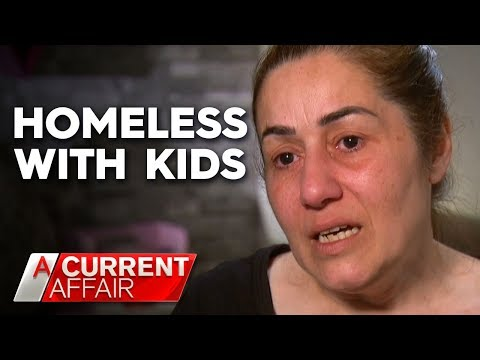 Families go homeless as public housing units sit empty | A Current Affair