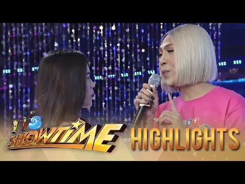 "It's Showtime Miss Q & A: Vice Ganda feels afraid for his feelings for ""Ate Girl"""