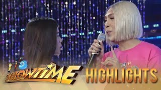 """It's Showtime Miss Q & A: Vice Ganda feels afraid for his feelings for """"Ate Girl"""""""