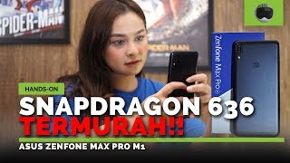 Unboxing  Hands-on Asus Zenfone Max Pro M1 Indonesia