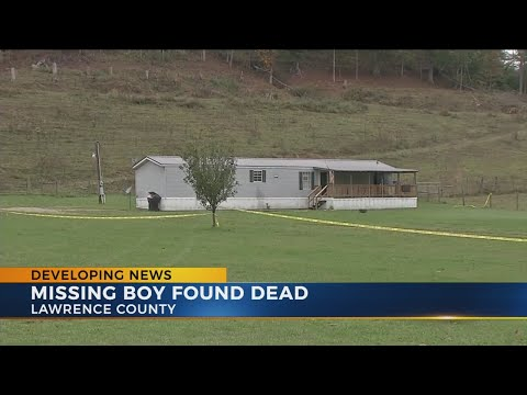 Missing Lawrence County boy found dead