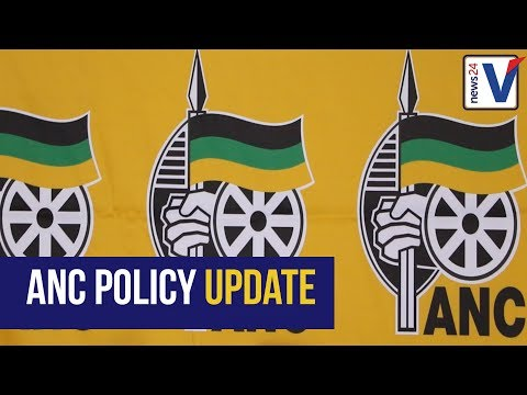 WATCH: Report back on ANC Policy commissions - White Monopoly Capital