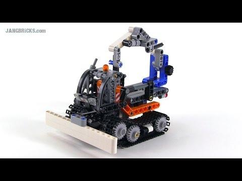 LEGO Technic Snow Groomer! set 42032 alternate build - YouTube