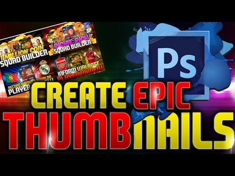 How To Create Professional Thumbnails for Youtube Gaming Channel | Ep. 1