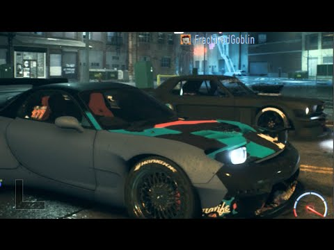 Need For Speed Online Drifting Battles w/Crew - RX7 13B