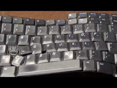 OLD VIDEO: Latitude D800 Keyboard Failures/Exploration and Windows 2000 CD Player