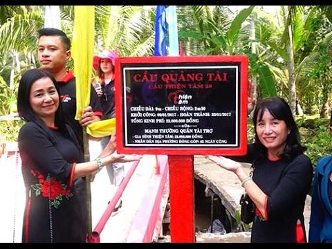 Thiện Tâm Charity Group Khánh Thành Cầu Số 28 Cầu Quảng Tài Tại Bến Tre
