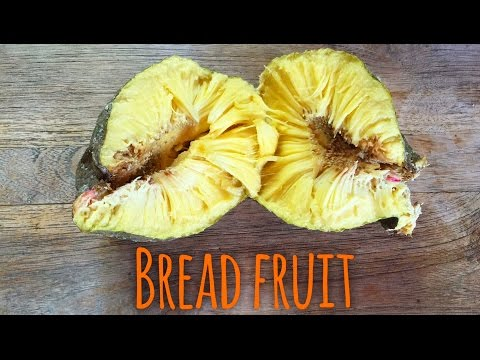 how to eat ripe breadfruit