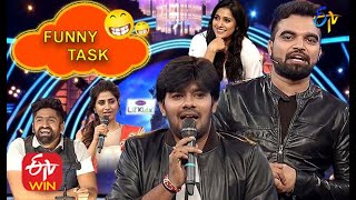 Sudheer | Rashmi | Pradeep | Varshini | Hemanth | Funny Task All in One | Dhee 10 | ETV Telugu