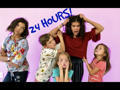 No PaReNTs for 24 HoURs In GrAnDMa's House!
