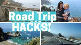 HOW TO SURVIVE A ROAD TRIP WITH A TODDLER!II Road Trip HACKS!