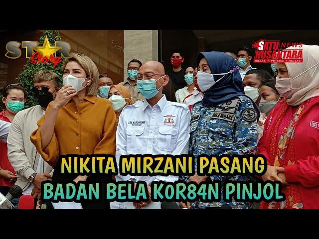NIKITA MIRZANI PASANG BADAN DUKUNG K0R84N PINJOL