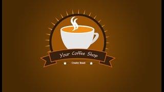 So Erstellen Sie ein professionelles Logo Design für Coffee-shop | Adobe illustrator CC