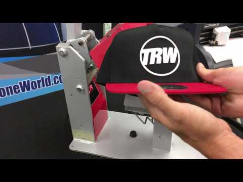 How to make an Awesome Custom Hat with an Otto Hat and Siser Brick HTV