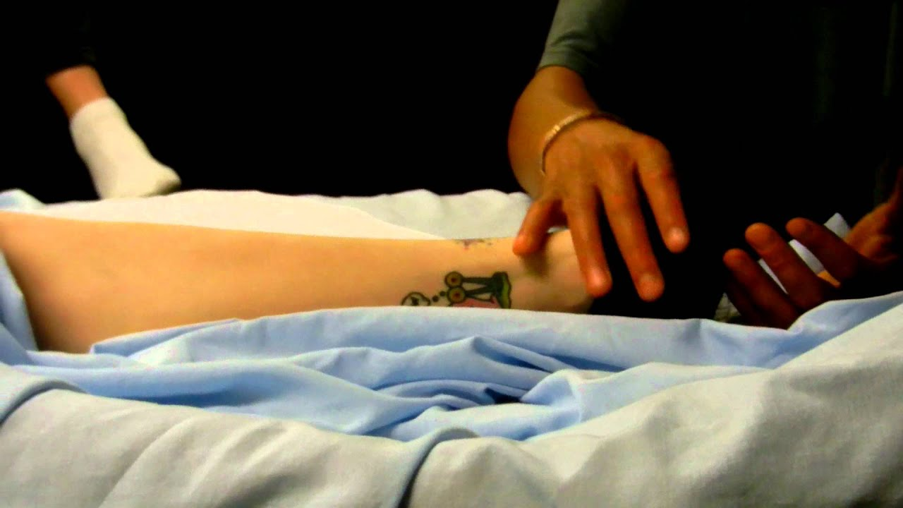 Healing Hands Sports Massage 13 - YouTube