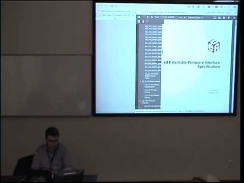 Uefi application development