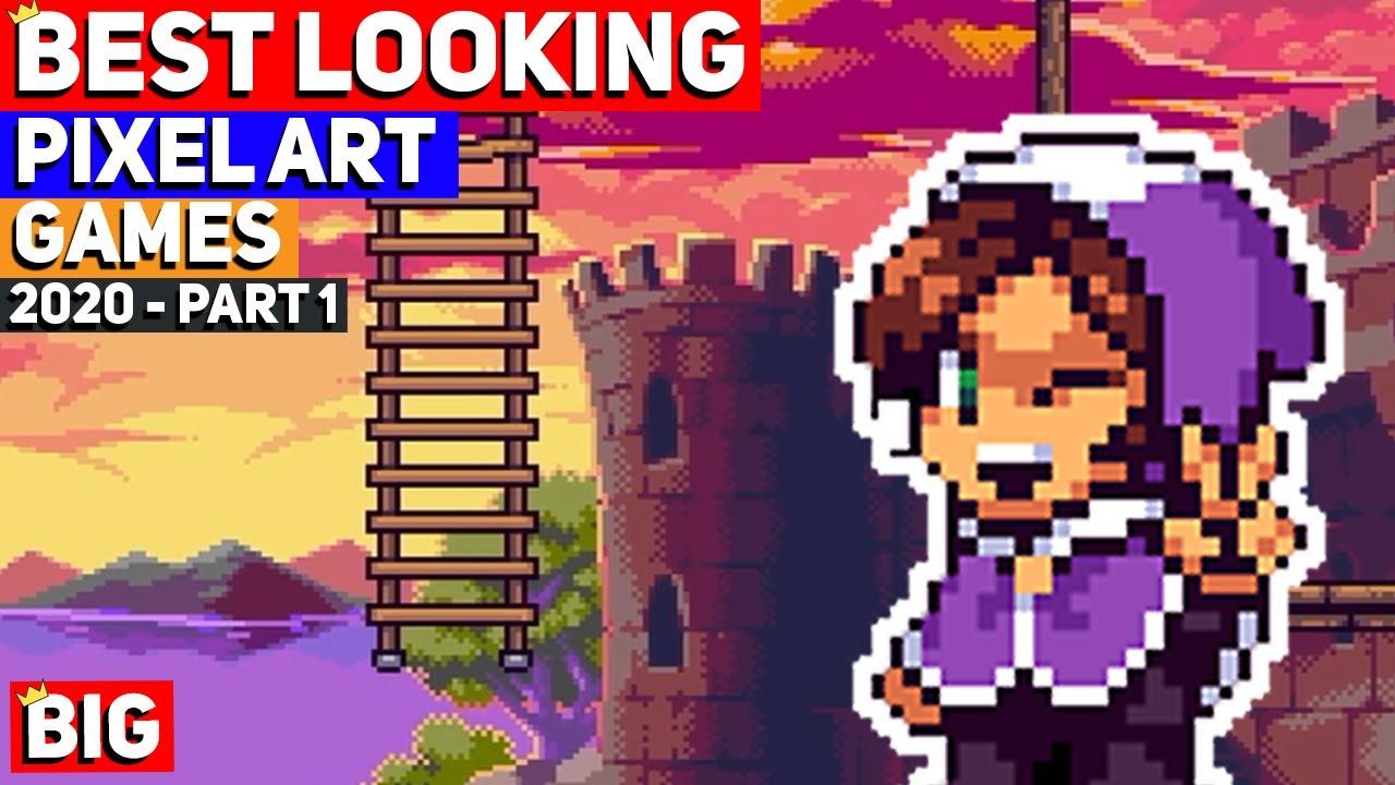 Top 50 BEST LOOKING Pixel Art Indie Games of 2020 - Part 1