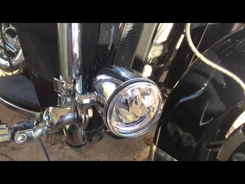 Harley Davidson Daymaker Fog Lamps Youtube