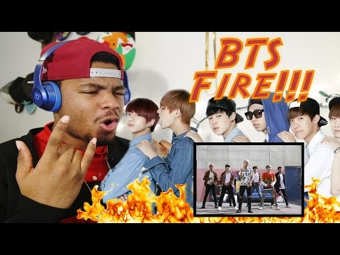 Reaction to BTS Fire !!!