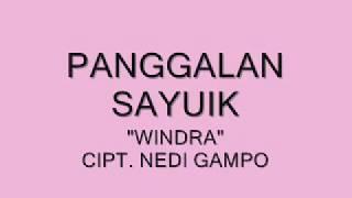 """FULL ALBUM """"WINDRA"""" MINANG RANCAK 2017"""