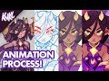 Creating ANIME style animations in Photoshop | Featuring Ashar the dragon girl!