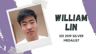 STEM World IOI Panel — William Lin